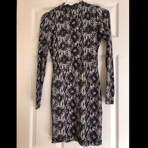 H&M Snake Skin Print Dress